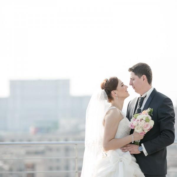Fotograf nunta Bucuresti cu Alina si Alex