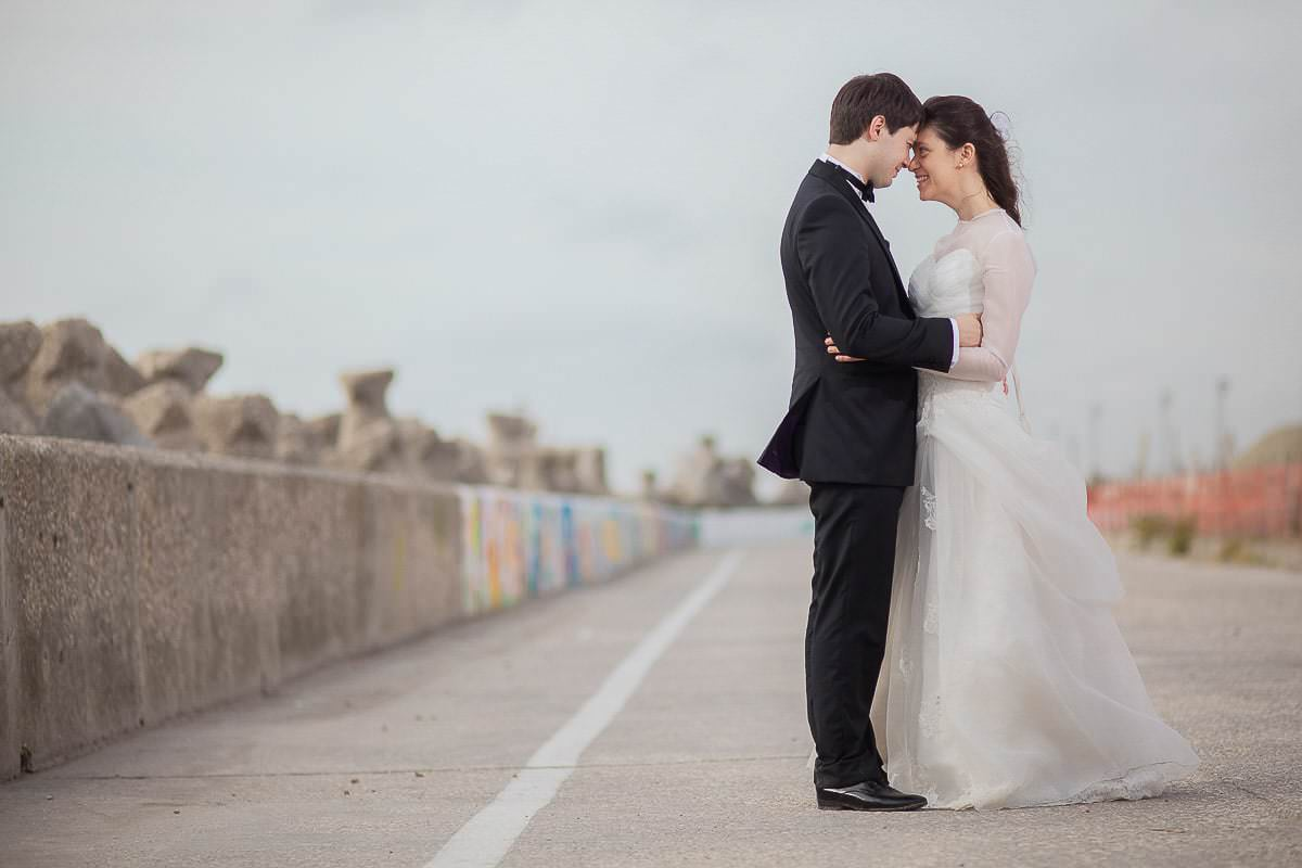 Cami si Alex - Trash the dress la mare - 13