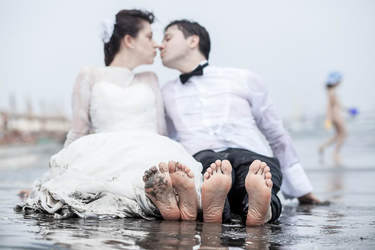 Cami si Alex - Trash the dress la mare - 18