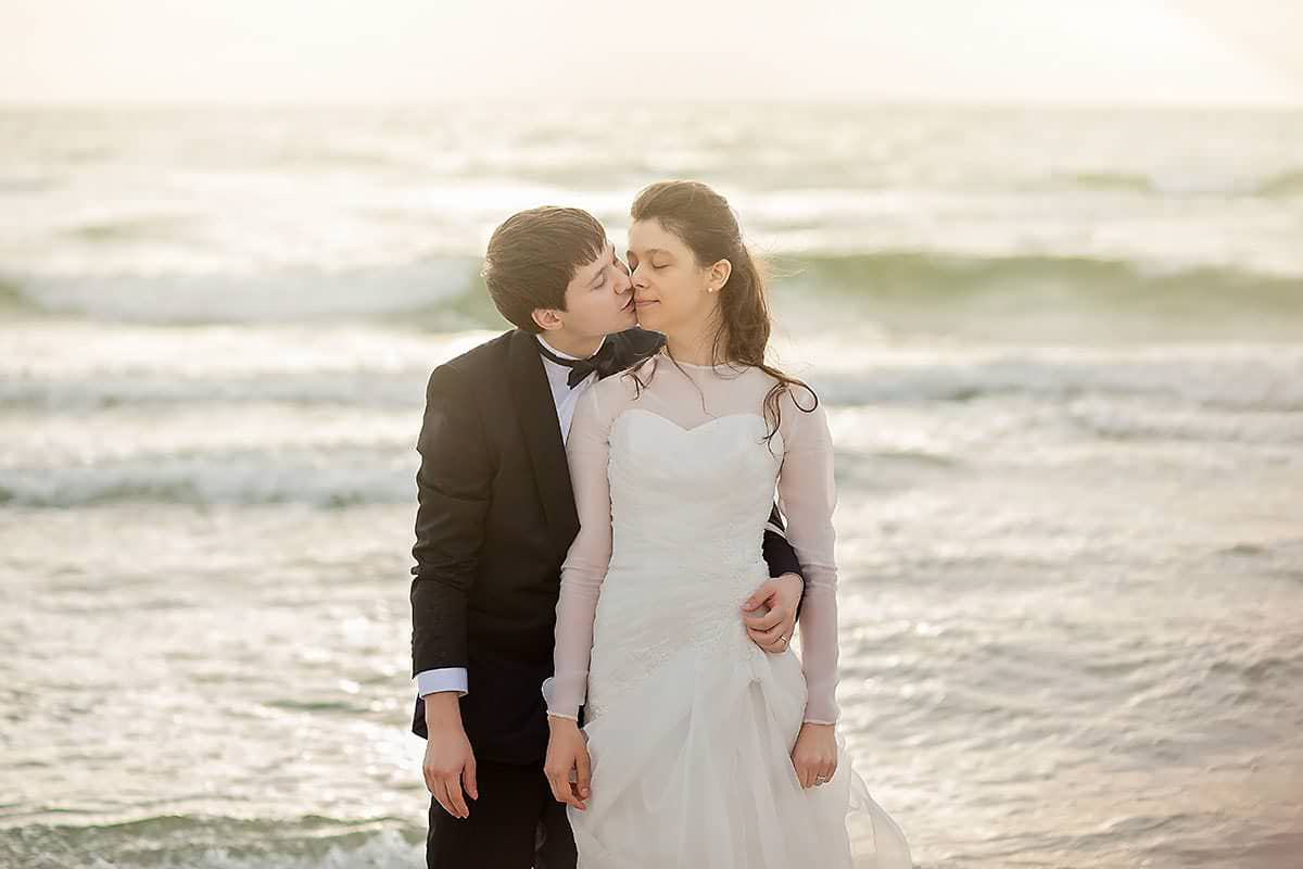 Cami si Alex - Trash the dress la mare