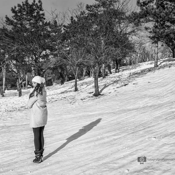 O fotografie alb-negru