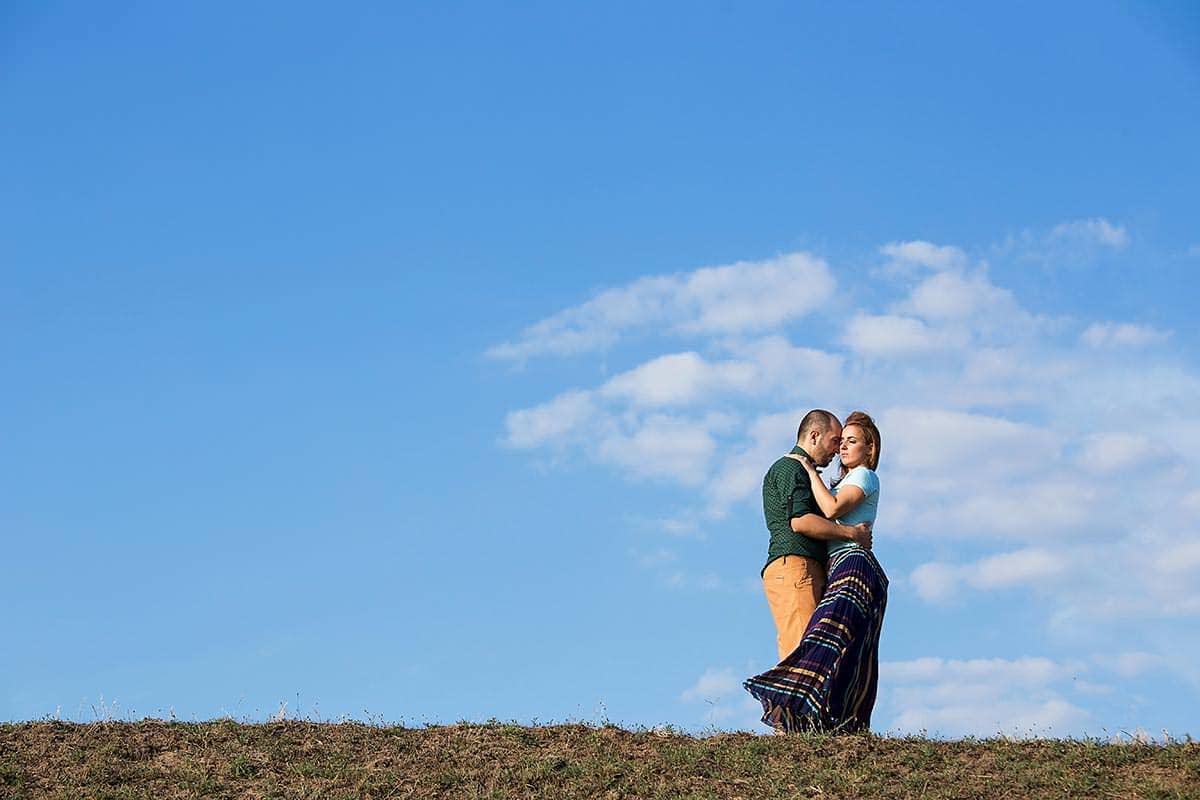 Sedinta foto de logodna Gabriela si Sorin