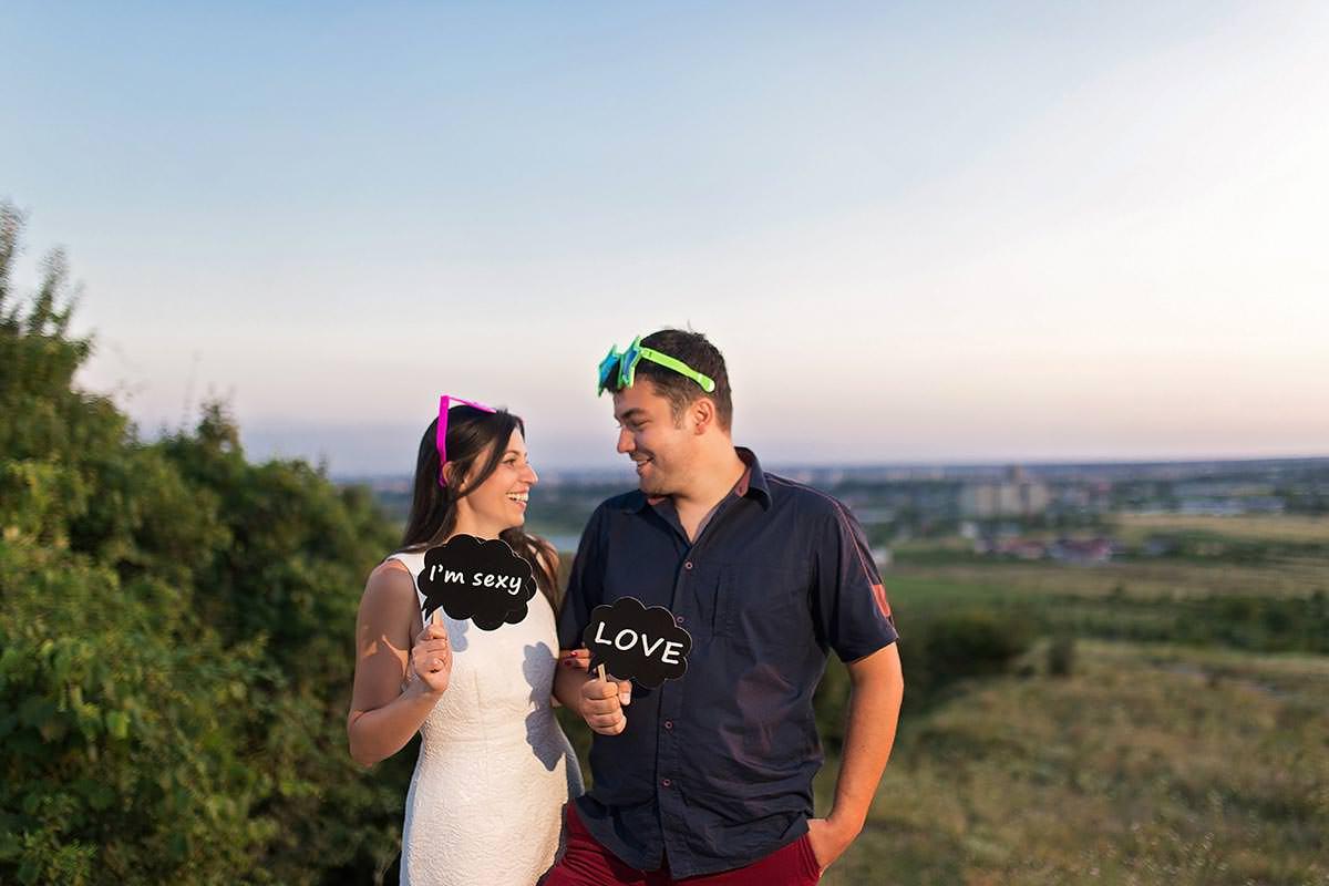 Sedinta foto de logodna Stefan & Oana