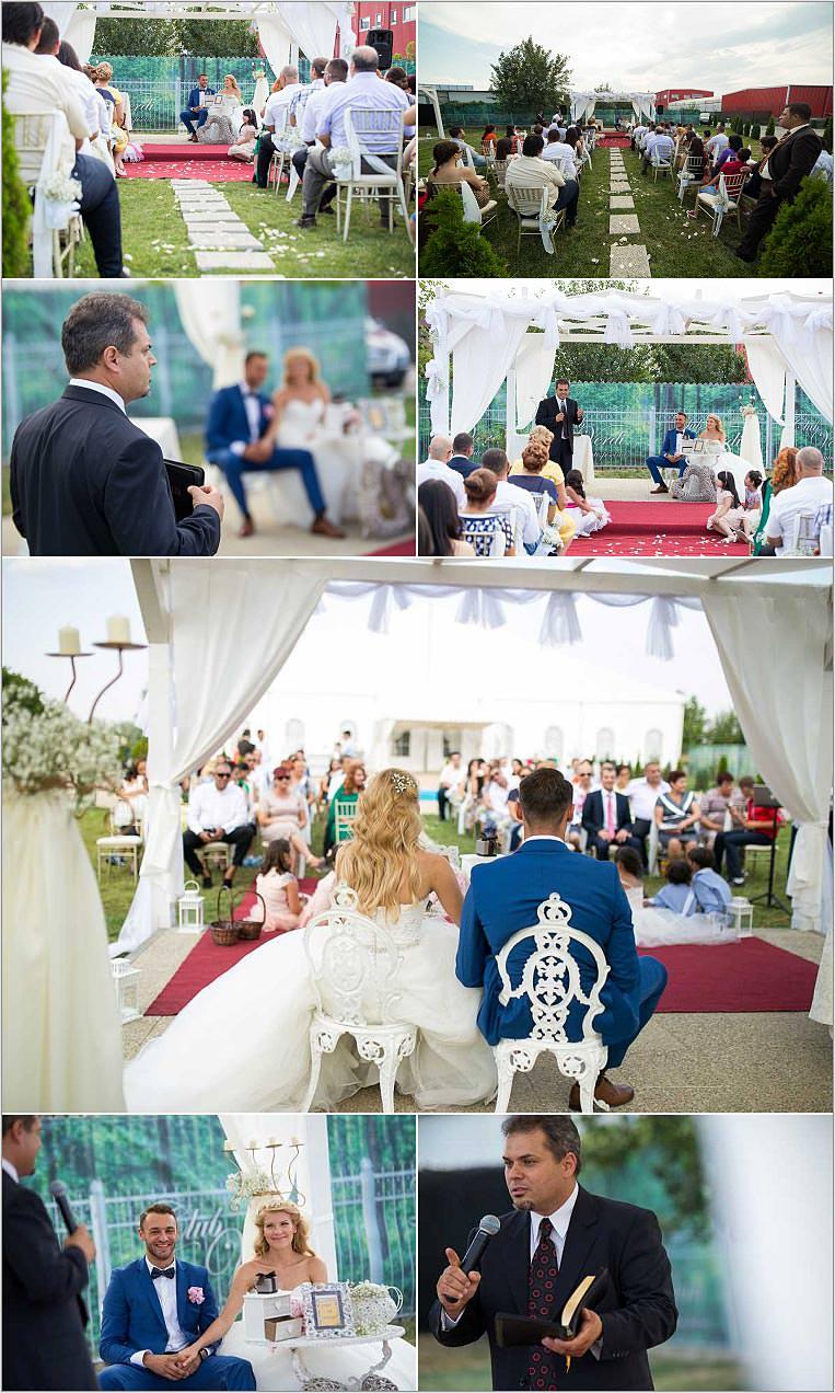 Fotografii nunta in aer liber