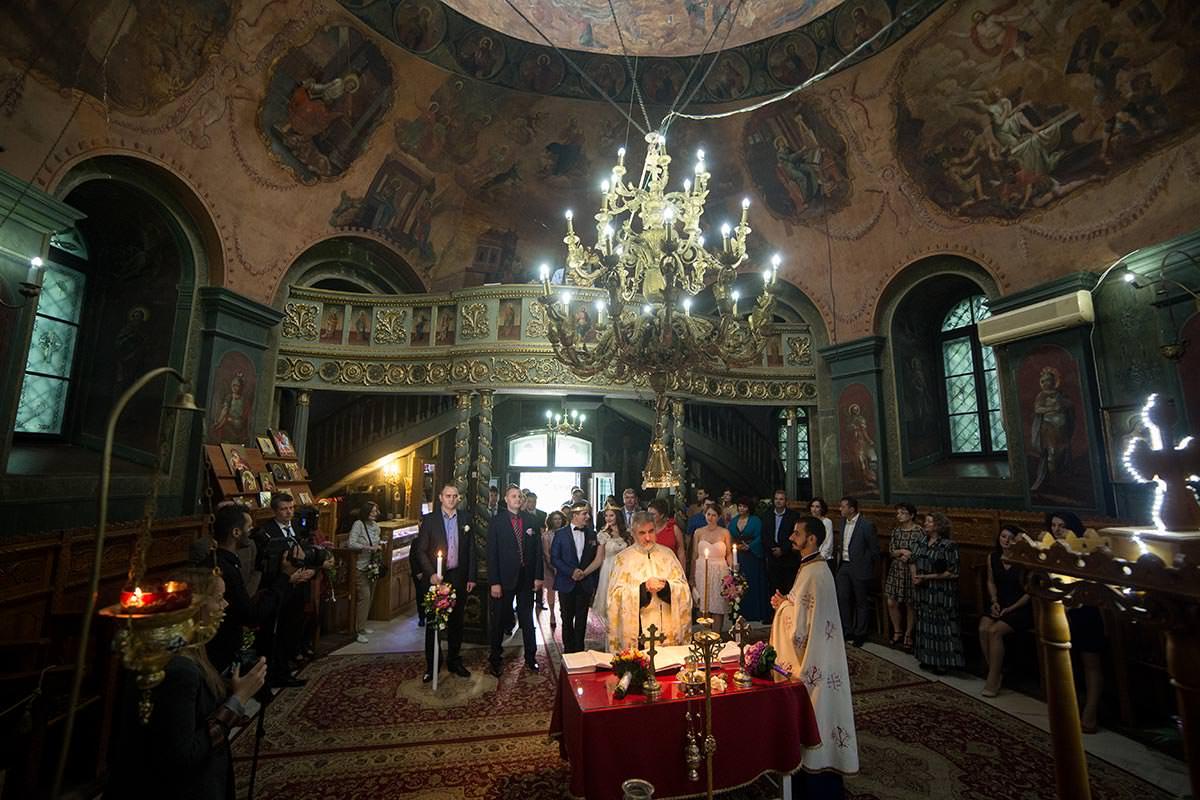 fotografie de nunta biserica