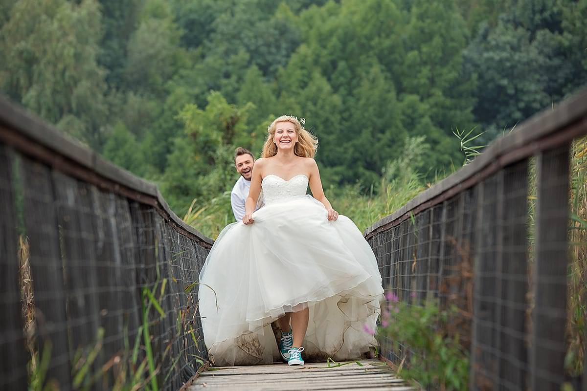 Sedinta foto dupa nunta cu Ellina si Ciprian la Parcul Natural Comana