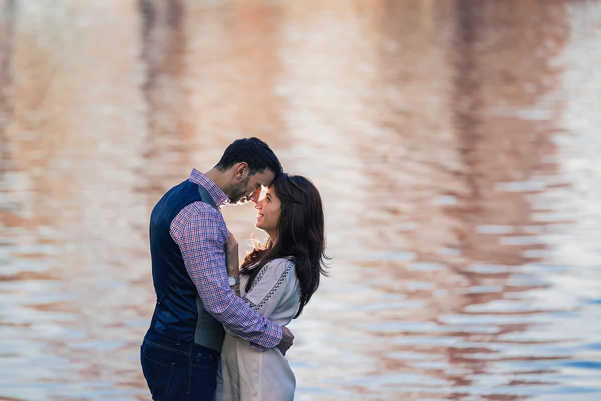 Sedinta foto de logodna in parcul ior (14)
