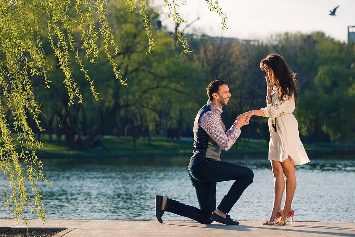 Sedinta foto de logodna in parcul ior (26)
