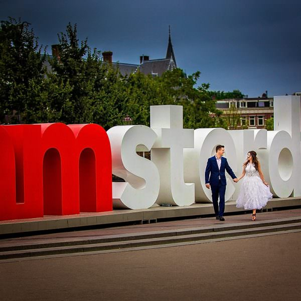 Nunta cu Andreea & Sebastiaan in AMSTERDAM
