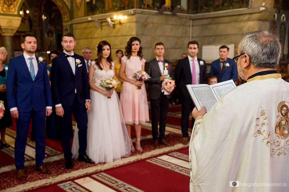 Biserica Sfantul Elefterie Nou din Bucuresti - fotografie de nunta