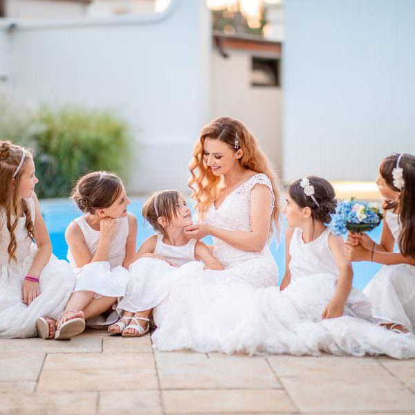 O selectie de fotografii cu momente din ziua nuntii